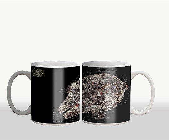 Caneca Star Wars - Millennium Falcon