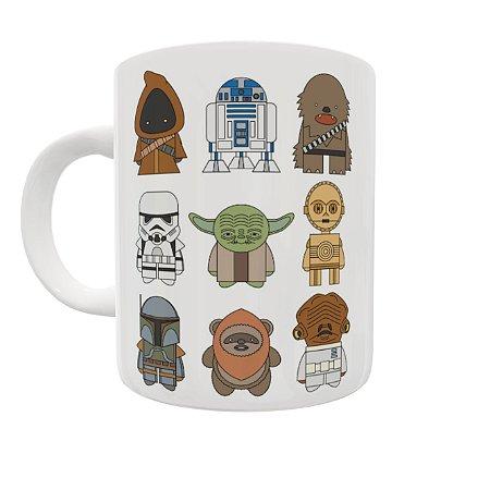 Caneca Coleção Star Wars - Personagens