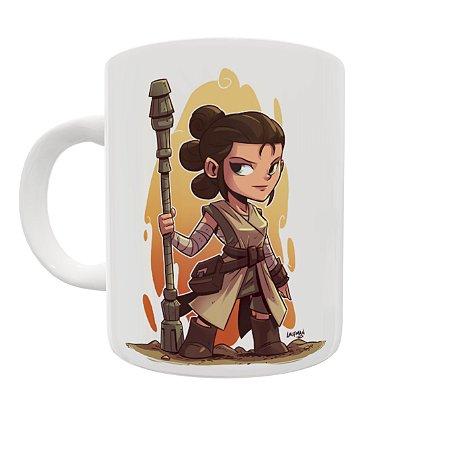 Caneca Coleção Star Wars - Rey