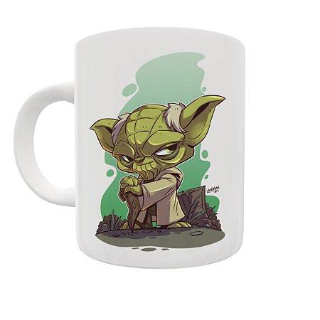 Caneca Coleção Star Wars - Yoda