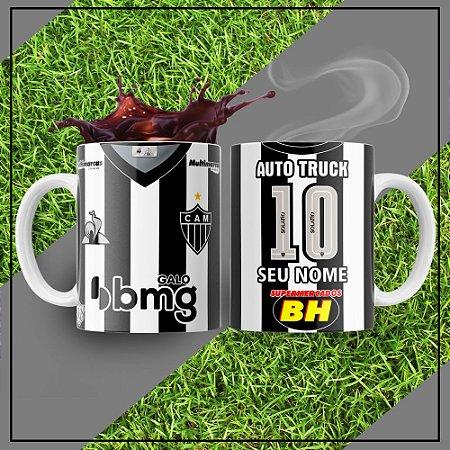 Caneca Times de Futebol - Atlético Mineiro