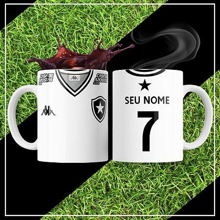 Caneca Times de Futebol - Botafogo