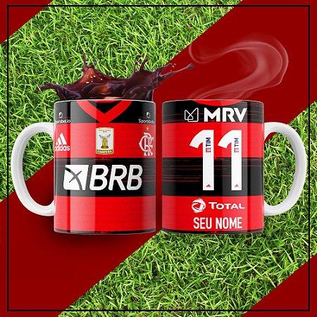 Caneca Times de Futebol - Flamengo