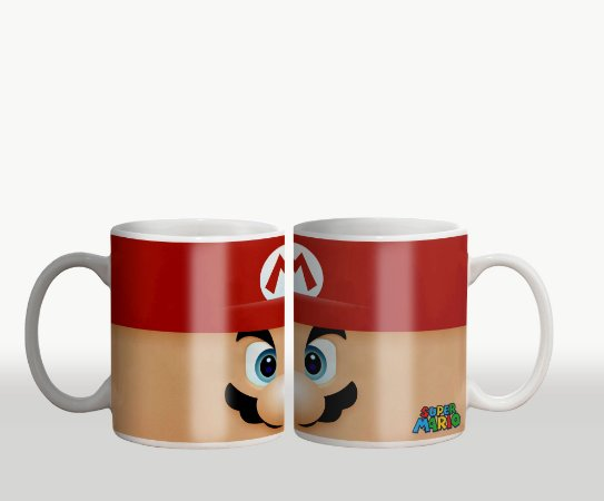 Caneca Mario Bros