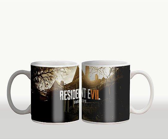 Caneca Residente Evil Biohazard