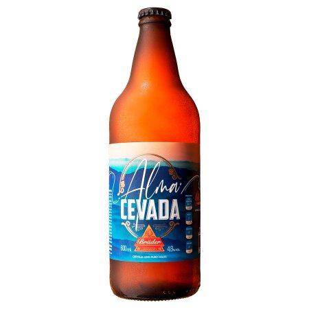 Cerveja Brüder Alma Cevada Lager 600ml