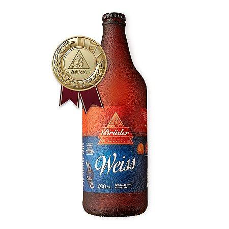 Cerveja Brüder Weiss 600ml