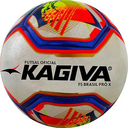 Bola Futsal Kagiva F5 Pro Brasil Sub 7 - Bola Oficial