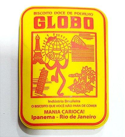 Imã biscoito Globo