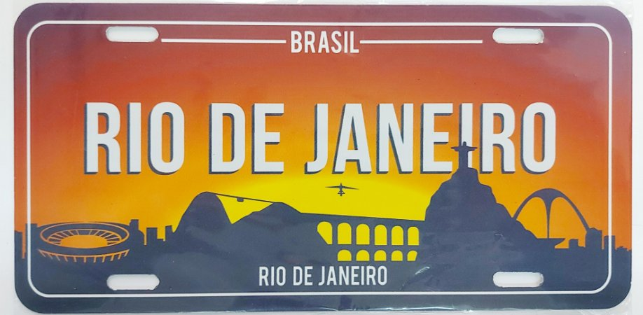 Placa Rio apoteose
