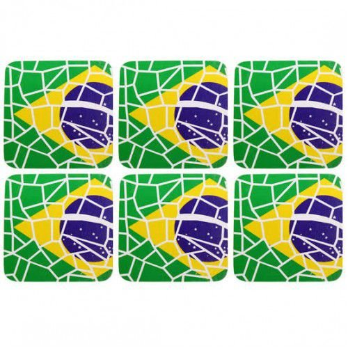 Porta copos Brasil