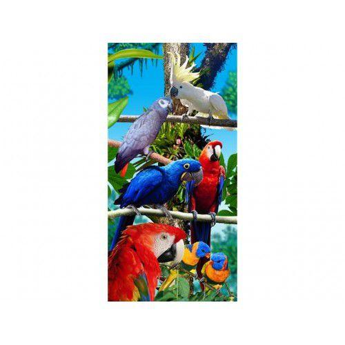Toalha pássaros