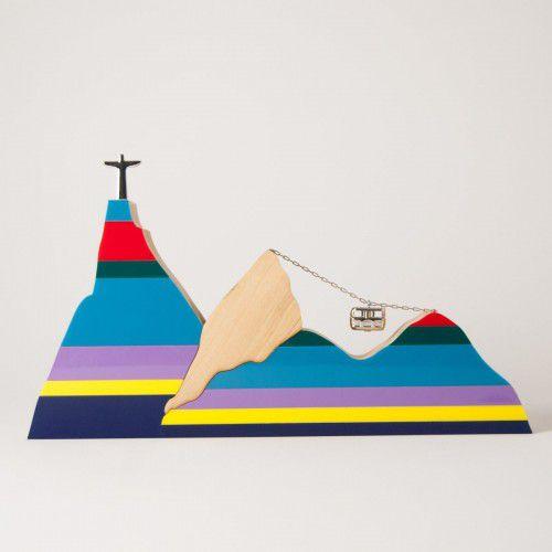 Paisagem Rio Listras coloridas