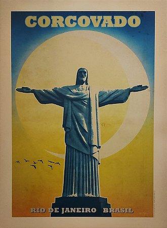 Placa decorativa Cristo Redentor