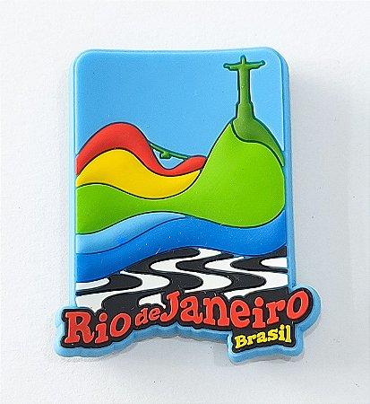 Imã Rio - azul
