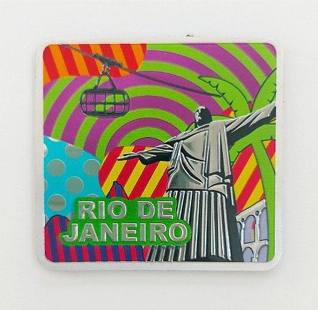 Imã metalizado Rio cores
