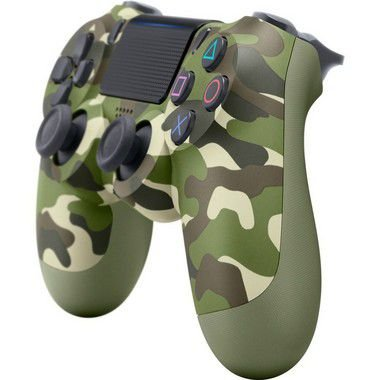 Controle Sem Fio Dualshock 4 Green Camouflage - PS4