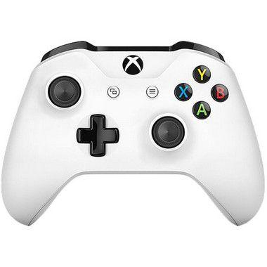 Controle Sem Fio Xbox One Branco Com Bluetooth - Microsoft