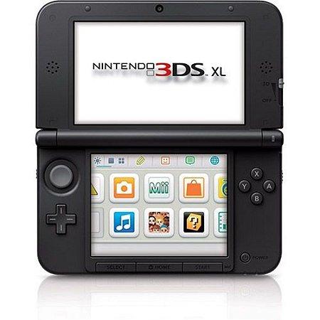 Console Nintendo 3DS XL Vermelho / Preto
