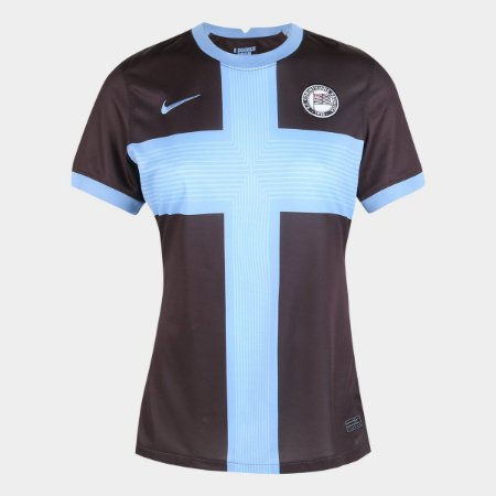 Camisa Corinthians III 20/21 s/n° Torcedor Nike Feminina - Preto e Branco