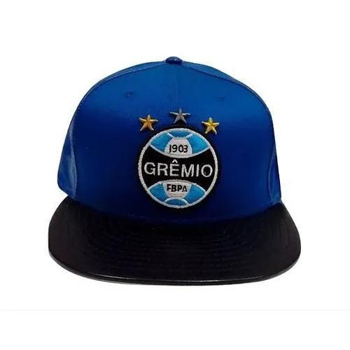 Boné Gremio Aba Reta Azul New Era