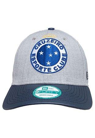 Boné Cruzeiro Cinza New Era