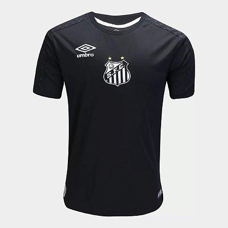 Camisa Santos Goleiro 2019 preta