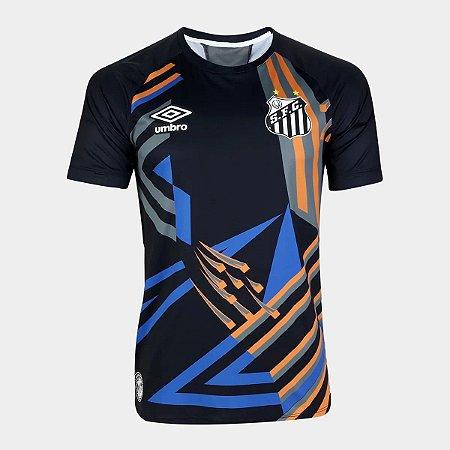 Camisa Santos Goleiro Preta 20/21