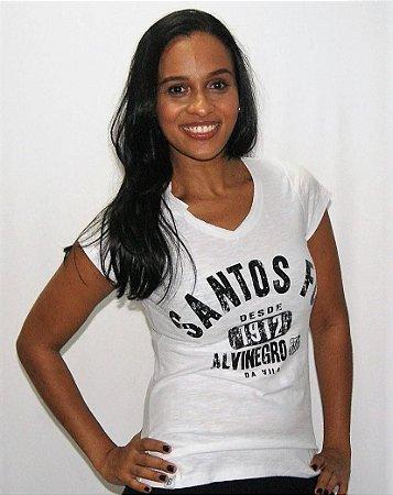 Camisa Santos Feminina Cover Braziline
