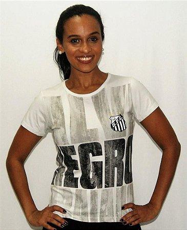 Camisa Santos Feminina Girly Braziline