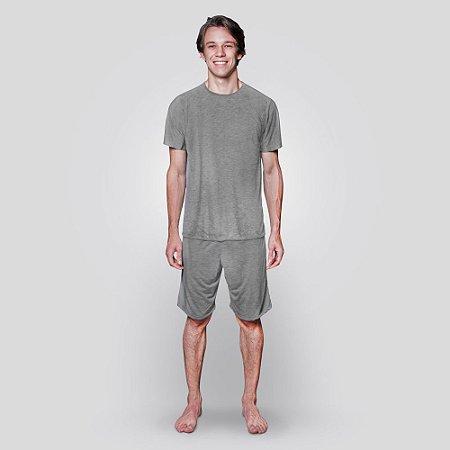 Segunda Pele shorts e camiseta