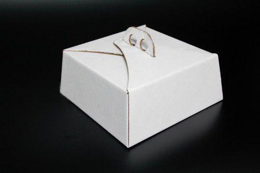 Caixa Bolo c/ Alça n6 26x26x10