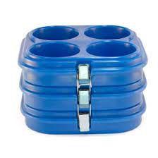 Kit Caixa térmica para marmitex 8 e 9 3 andares e 1 tampa - Marmibox