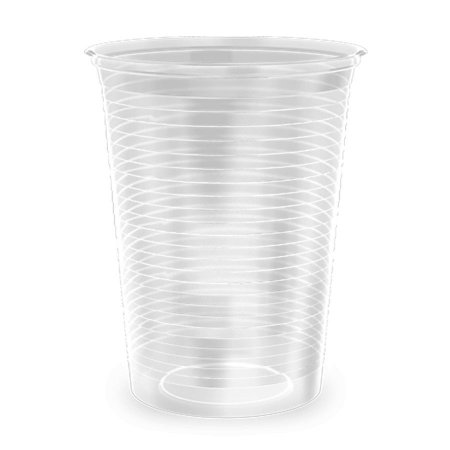 Copo Descatável 180ml transparente - Copobras