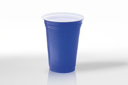 Copo Color p/ Festa 400ml Azul - Copobras