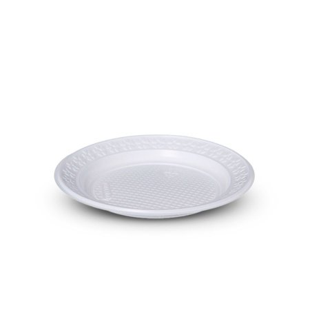 Prato plástico 15cm branco - Copobras