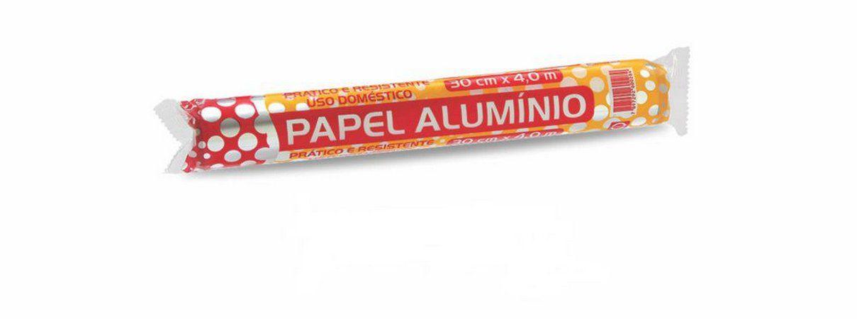 Papel Alumínio Rolo 45X4mt- Thermoprat