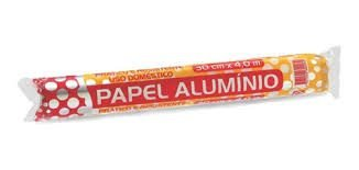 Papel Alumínio Rolo 30x4mt - Thermoprat