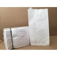 Saco de Papel  Branco 1Kg com 500 unid