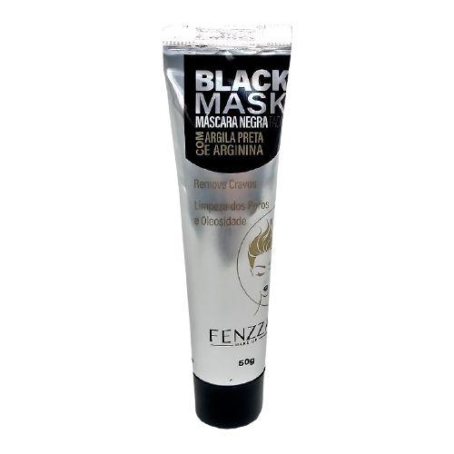 Mascara Fenzza Black Mask Bisnaga 50g