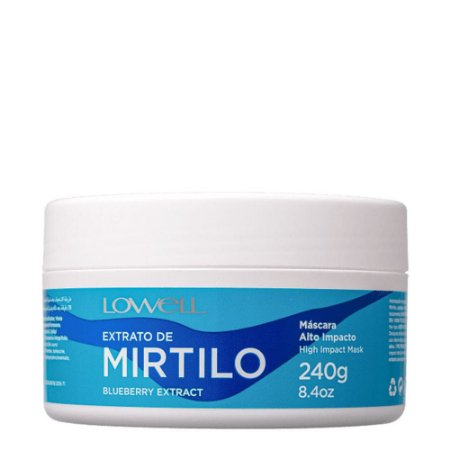 Máscara Extrato de Mirtilo Lowell 240g