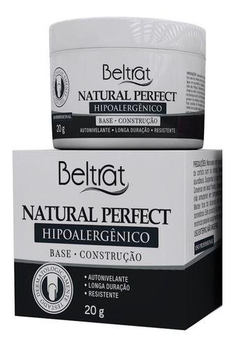 Gel Capa Base Beltrat Natural Perfect 20g