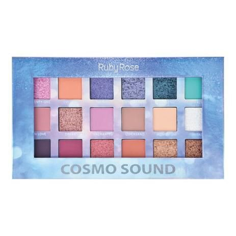 Paleta de Sombras Cosmo Sound Ruby Rose