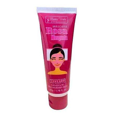 Mascara Facial Matto Verde Rosa Mosqueta Bisnaga 50g