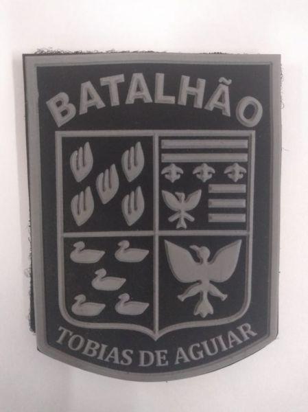 BRASÃO 1° DE CHOQUE - ROTA (EMBORRACHADO)