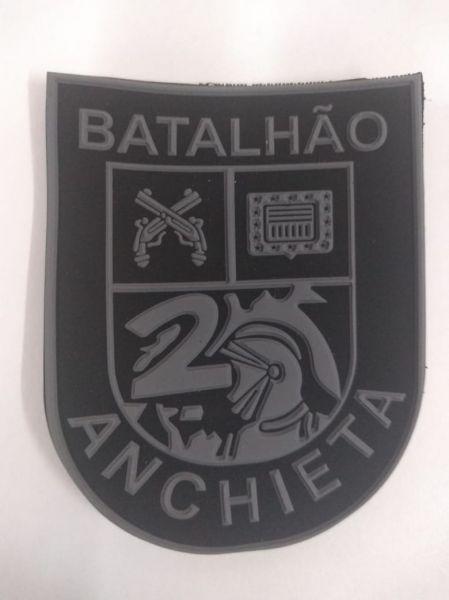 BRASÃO 2° DE CHOQUE BATALHÃO ANCHIETA (EMBORRACHADO)