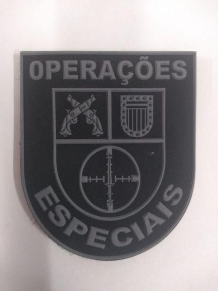 BRASÃO 4° DE CHOQUE / OPERAÇÕES ESPECIAIS (EMBORRACHADO)