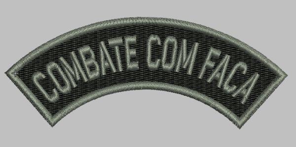 LISTEL COMBATE COM FACA (POLÍCIA MILITAR)