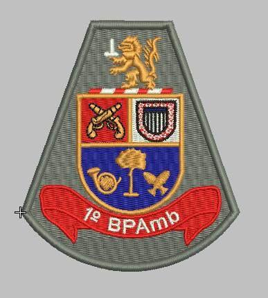 BRASÃO 1 BPAmb POLÍCIA MILITAR