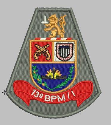 BRASÃO 13 BPM/I POLÍCIA MILITAR